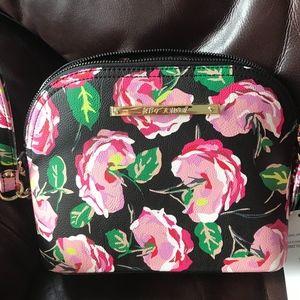 Super Cute Betsey Johnson Floral Crossbody Purse